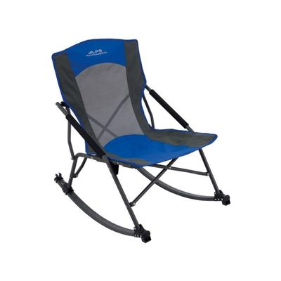 Alps Mountaineering Camp Furniture Low Rocker Chair-Blue ...