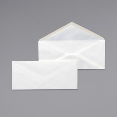 Cosco Universal UNV35210 Business Envelopes, #10 Size, Gummed V-Flap, 500 Per Box, White