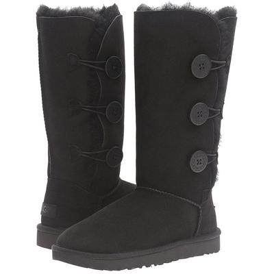 Bailey Button Triplet Ii (grey) Women's Boots - Black - UGG Boots