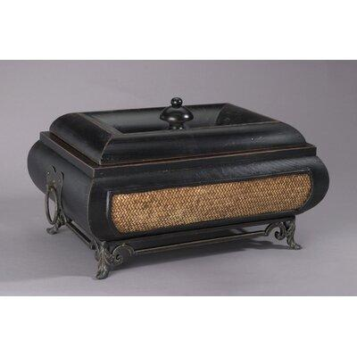 AA Importing Wood and Wicker Decorative Box 48718 / 48722...