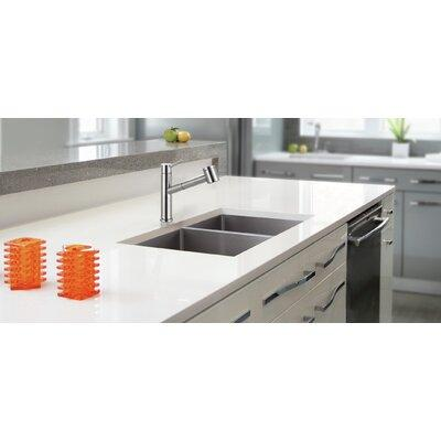 "Franke Compact 32"" x 18"" Undermount Double Basin Kitchen ..."