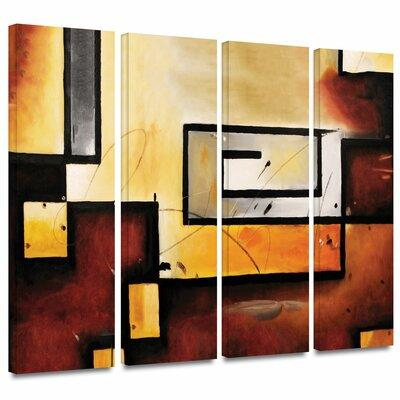 ArtWall 'Abstract Modern' by Jim Morana 4 Piece Graphic A...