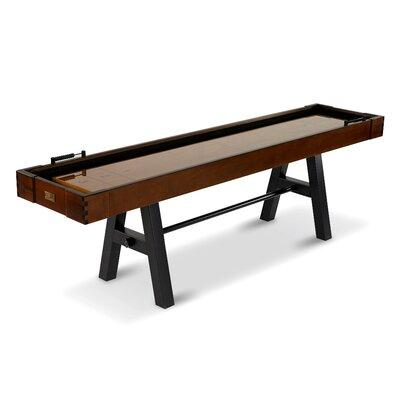 Barrington 9 ft. Allendale Collection Shuffleboard Table, Brown