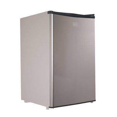 Black + Decker 4.3 cu. ft. Compact Refrigerator with Free...