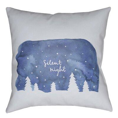 The Holiday Aisle Silent Night Indoor/outdoor Throw Pillo...