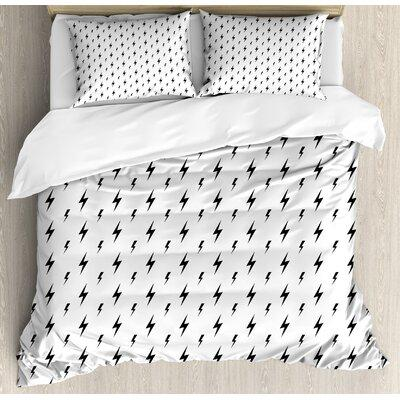 Ambesonne Duvet Cover Set nev_28596 Size: King