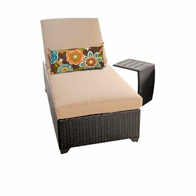 TK Classics Classic 2 Piece Chaise Lounge Set with Cushio...