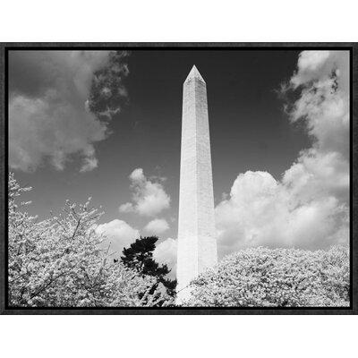 Global Gallery 'Washington Monument and Cherry Trees, Was...