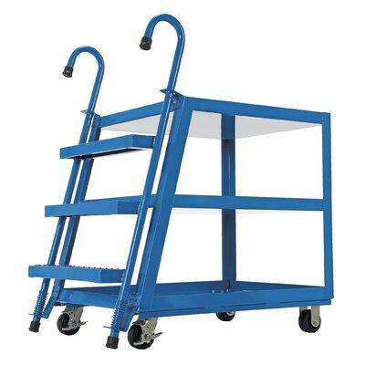Vestil 3 Shelf Stock Picker Utility Cart SPS3-2840
