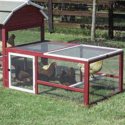 Tucker Murphy Pet Cole Old Barn II Chicken Run with Roost...