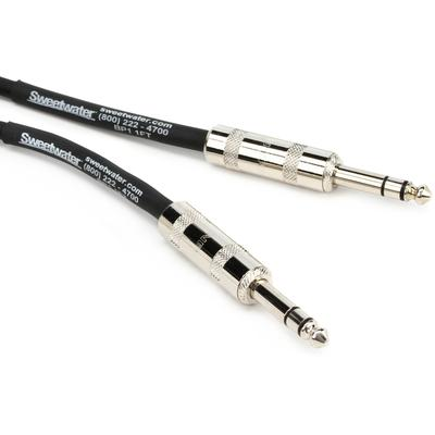 Pro Co BP-1 Excellines Balanced Patch Cable - 1' (1' TRS-TRS Cable)