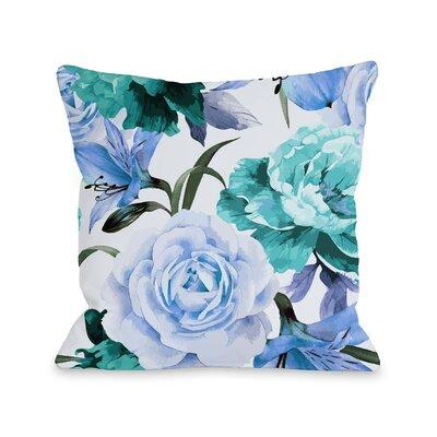 Color: Periwinkle Winston Porter Willey A Floral Afternoon Periwinkle Outdoor Throw Pillow Brighten up your patio with a great Willey A Floral Afternoon Periwinkle Outdoor Throw Pillow. The designs are hand-picked by the in-house designer to perfectly...