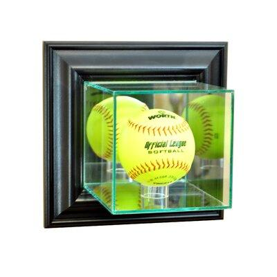 Perfect Cases and Frames Wall Mounted Softball Display Ca...
