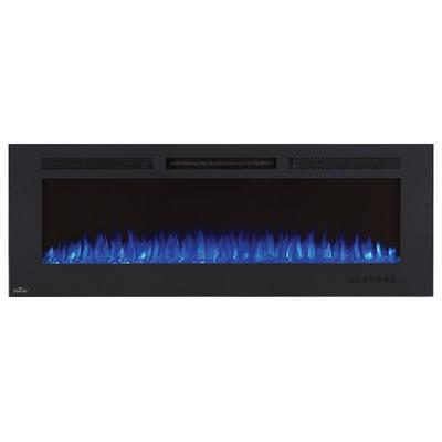Napoleon NEFL60FH-MT 5000 BTU 60 Inch Wide Wall Mounted Electric Fireplace with Black
