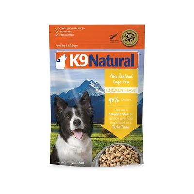 K9 Natural Chicken Feast Raw Grain-Free Freeze-Dried Dog ...
