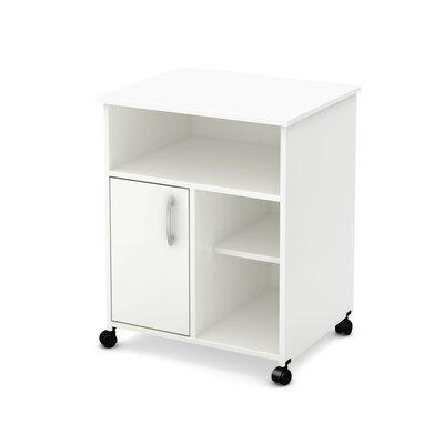 South Shore Axess Collection Printer Stand Pure White - 7250691