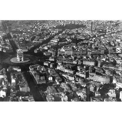 Buyenlarge Arc De Triomphe as Viewed from a Balloon' Phot...