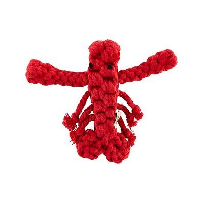 Jax and Bones Louie the Lobster Rope Dog Toy, Small