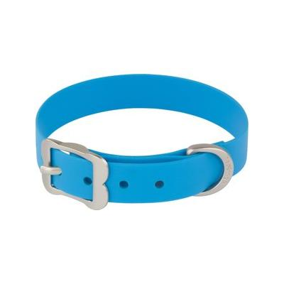 Red Dingo Vivid PVC Dog Collar, Blue, Small ; Take your pup on all kinds of adventures with the Red Dingo Vivid PVC Dog Collar. It might be hard to clean a wet, muddy dog, but this waterproof collar is easy to wipe clean and won't retain any smelly...