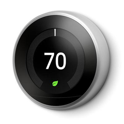 Nest Learning Thermostat (3rd Generation), Silver