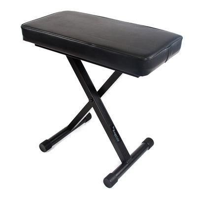 Reprize Accessories Keyboard Bench with Pad, Black