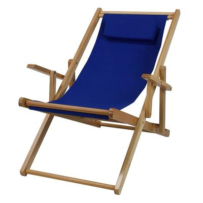 Outdoor Casual Home Sling Chair, Blue