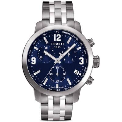 T0554171104700 Stainless Steel Watch - Blue - Tissot Watches