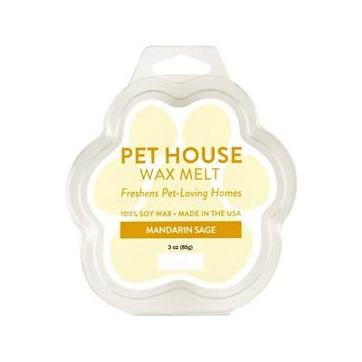 Pet House Mandarin Sage Natural Soy Wax Melt, 3-oz