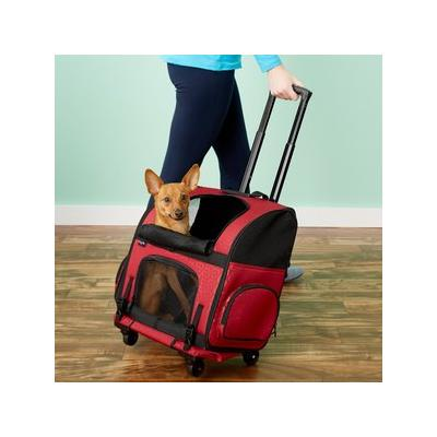 Gen7Pets Geometric Roller Carrier with Smart-Level Pet Ca...