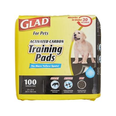 Glad Activated Carbon Training Pads, 100 count