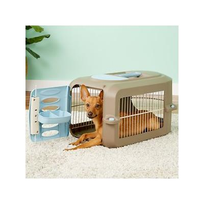 Suncast Deluxe Tan Pet Carrier