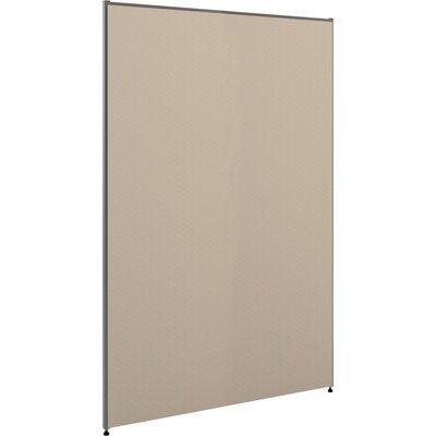 """BPI Incorporated Basyx by HON BSXP7248GYGY Verse P-Series Full Fabric Panel, Adjustable Glides, 72""""H x 48-1/2""""W, Gray"""