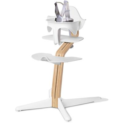 Evomove Nomi Highchair - White/White Oak