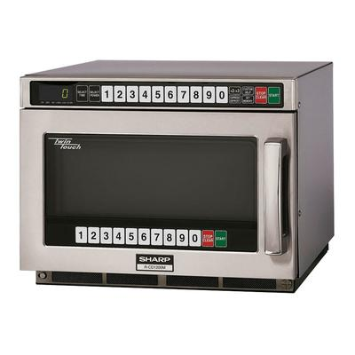 Sharp RCD1200M 1200w Commercial Microwave w/ Touch Pad, 120v