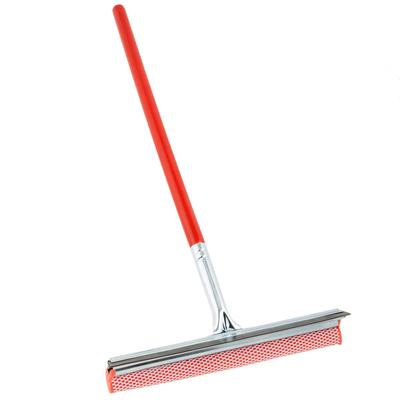 """Winco 12"""" Auto Squeegee and Sponge with 18"""" Handle"""