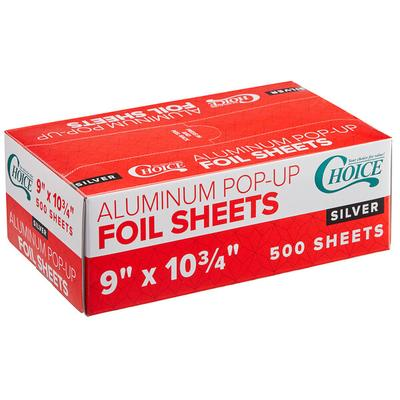 "Box of 500 Sheets Choice 9"" x 10 3/4"" Food Service Interf..."