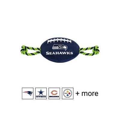 Pets First NFL Football Rope Dog Toy, Seattle Seahawks
