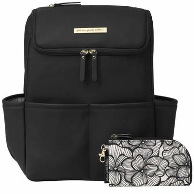 Petunia Pickle Bottom Method Backpack - Black Matte Leatherette