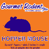 Frozen Hopper Mouse - 10 Count, 10 CT