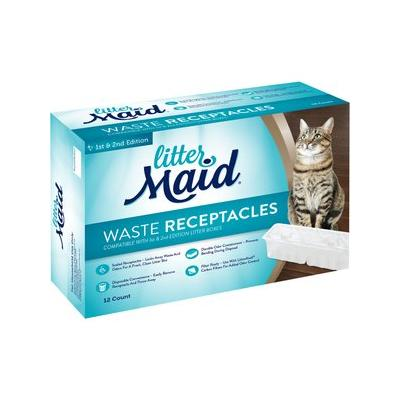 LitterMaid Waste Receptacles for Self-Cleaning Cat Litter Box, 12 count