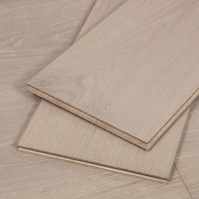 White Washed Oak Flooring, 4mm veneer, Sample