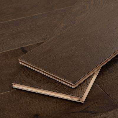 Dark Brown Oak Hardwood Flooring, Sample