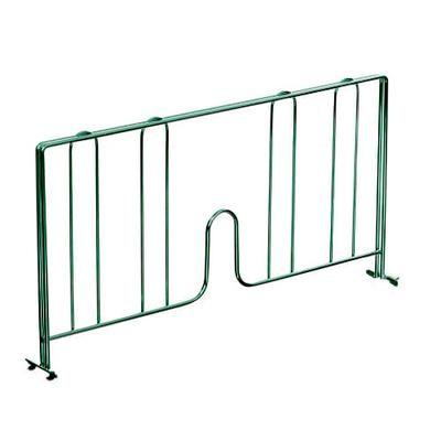 John Boos EPS-D14-G Wire Shelving Divider - 14 x 8, Green on Sale