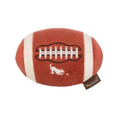 P.L.A.Y. Pet Lifestyle and You Football Plush Dog Toy, Small