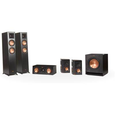 Klipsch RP5F/5C/4S home theater speaker system on Sale