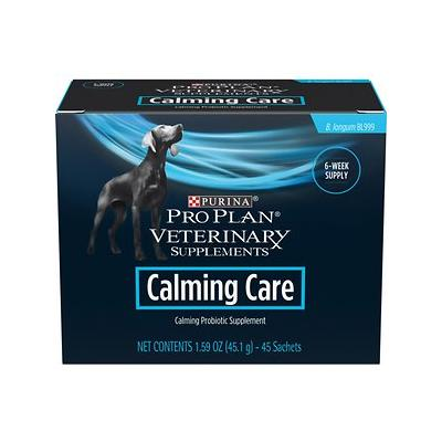 Purina Pro Plan Veterinary Diets Calming Care Canine Formula Dog Supplements, 45 count