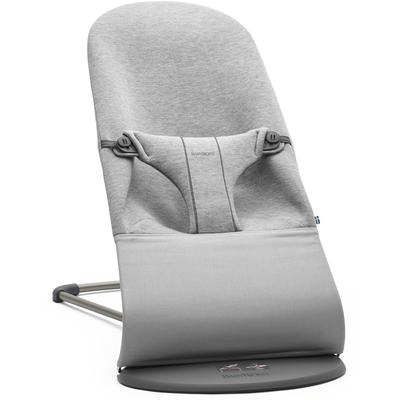 BabyBjorn Bouncer Bliss, 3D Jersey - Light Grey