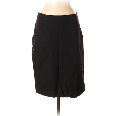 Banana Republic Casual Skirt: Black Solid Bottoms - Size 8