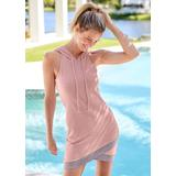 Hooded Detail Dress Loungewear - Pink