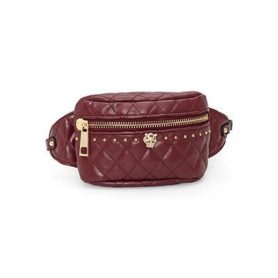 Quilted Belt BAG Accessories & Handbags - Red/purple